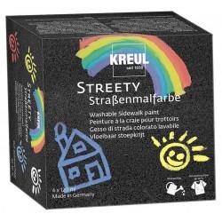 Kreul Streety barva za cesto set 4 x 120ml