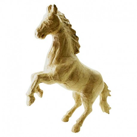 Papmache figura S Konj 6 x 9 x 16,5cm