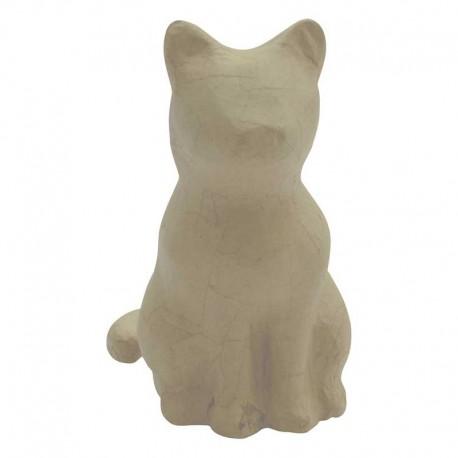 Papmache figura S Mucka 13 x 9,5 x 15cm