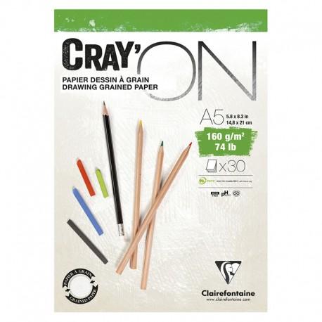 Clarefontaine Cray On skicirka 160g. 30 listov