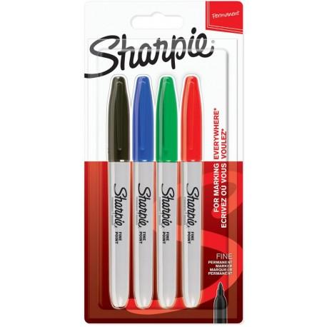 Sharpie permanentni marker Fine Osnovni set 4