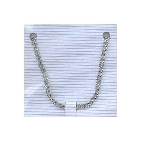 Metalna verižica 3mm x1m, srebrne b.