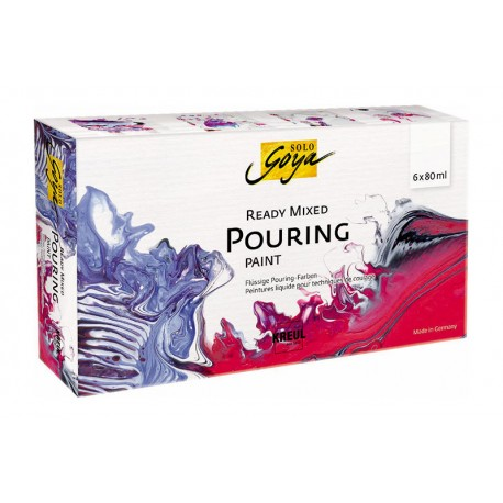Solo Goya Pouring set 6 x 80ml