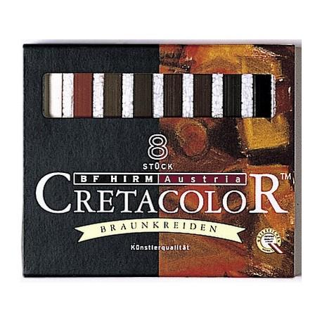 Rjavi pasteli set 8
