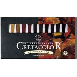 Rjavi pasteli set 12