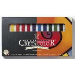 Cretacolor kvadratne pastelne krede set 12