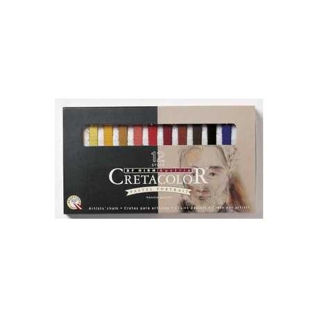 Cretacolor pastelne krede set 12 Portret