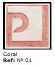 Podglazurna kreda 01 Coral-Koralno rdeča