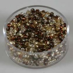 srebrno zlati toni 2,6mm 17g.