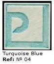 Podglazurna kreda 04 Azul turquesa-Turkizno modra