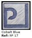 Podglazurna kreda 17 Azul cobalto-Kobalt modra
