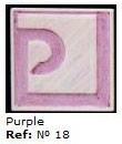 Podglazurna kreda 18 Morado-Vijolična