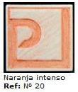 Podglazurna kreda 20 Naranja intensio-Intenzivna oranžna