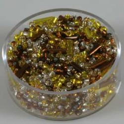 Rumene-zlate-srebrne 17g. 2,6mm+palčke
