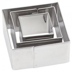 Kovinski modelčki Kvadratni 2 - 4cm