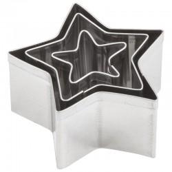 Kovinski modelčki Zvezde 2 - 4cm