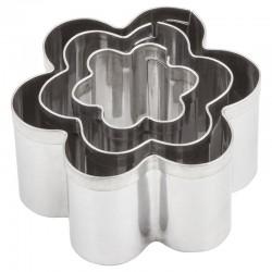 Kovinski modelčki Rože 2-4cm, 3 kosi