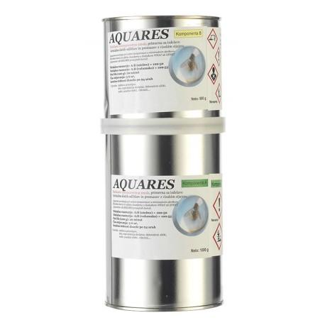 Aquares epoksidna smola 1000+500g.