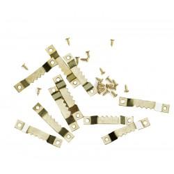 Obešanka za slike z zobci, žagica, 10 kosov