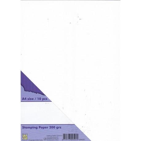 Papir za štampiljke A4, 200g. 10 kosov