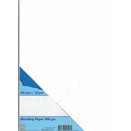 Papir za blendiranje A4, 200g. 10 kosov