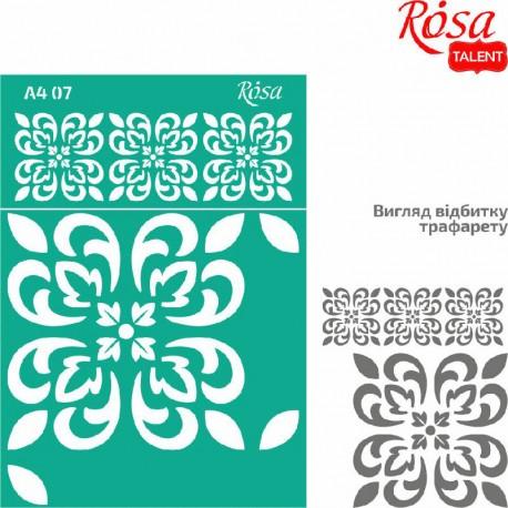Samolepilna šablona A4 N07, Ornament