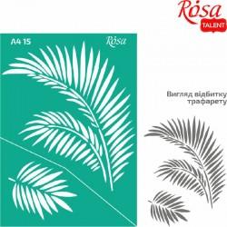 Samolepilna šablona A4 N15, Palmovi listi