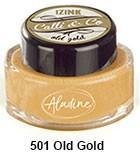 Izink kaligrafski tuš 15ml, Old Gold