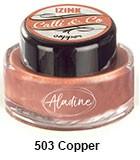 Izink kaligrafski tuš 15ml, Copper