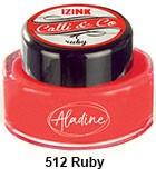 Izink kaligrafski tuš 15m, Ruby