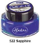 Izink kaligrafski tuš 15ml, Sapphire