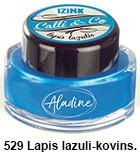 Izink kaligrafski tuš 15ml, Lapis lazuli