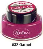 Izink kaligrafski tuš 15ml, Garnet