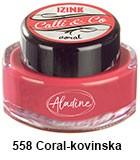 Izink kaligrafski tuš 15ml, Coral