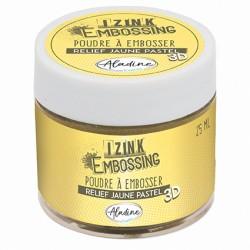Aladin Embossing prah 25ml, Pastelno rumena