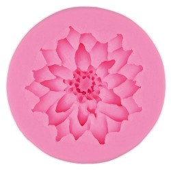 Silikonski kalup Roža 5.8 x 1.2cm