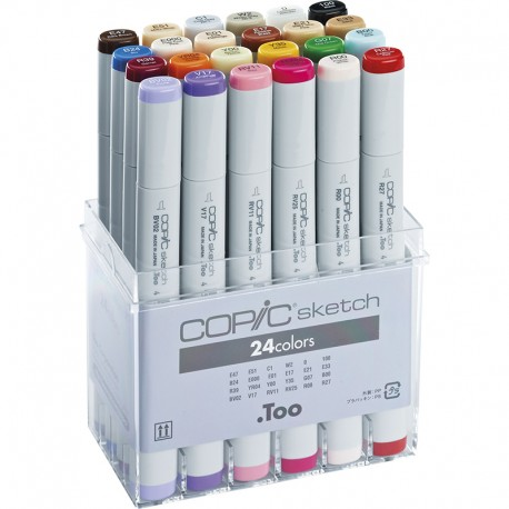 COPIC Sketch marker set 24