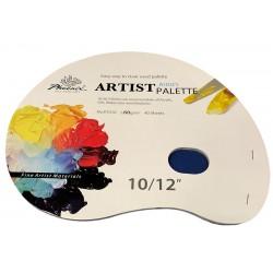 Papirna paleta Ovalna 25x30cm 60g. 40 listov
