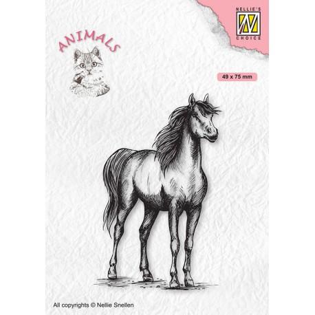 Nellies štampiljka Konj 49 x 75mm
