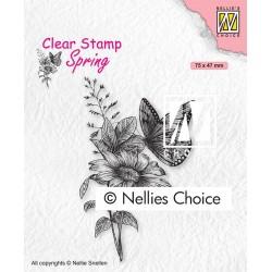 Nellies štampiljka Metulj 75 x 47