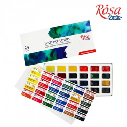 Rosa Studio akvarelne barve set 24
