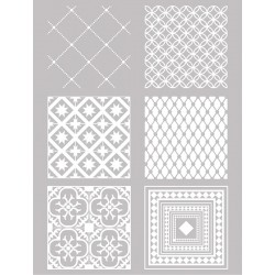 Šablona-sito za sitotisk Silkscreen 114x153mm Kvadratni