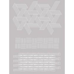 Šablona-sito za sitotisk Silkscreen 114x153mm Pleten v.