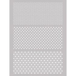 Šablona-sito za sitotisk Silkscreen 114x153mm Grafični v.