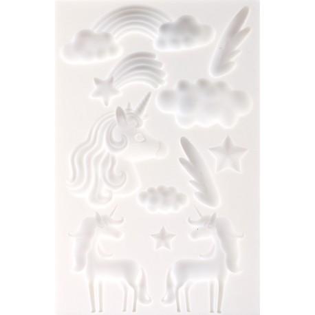 Silikonski modelčki Samorogi 20 x 13cm