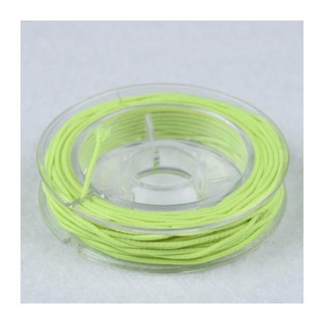 Elastična vrvica, Neon zelena, 0,5mm x 5m
