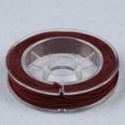 Elastična vrvica, Rjava, 0,5mm x 5m
