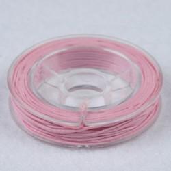 Elastična vrvica, Roza, 0,5mm x 5m