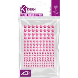 Kovinski krogci za likanje 3-4-5-6mm Flou Pink 176 kosov