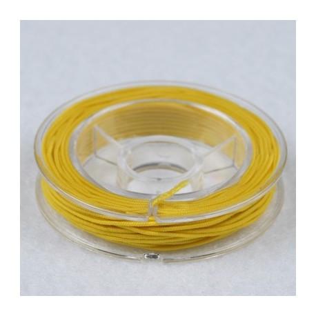 Elastična vrvica, Rumena, 0,5mm x 5m